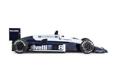 Formula 86/89 Light Blue Olivetti No. 8  NSR 0132IL