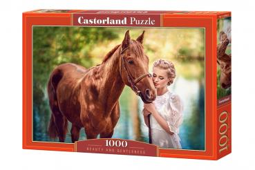 Beauty and Gentleness  ,Puzzle 1000 Teile  Castorland C-104390-2