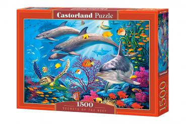Secrets of the Reef , Puzzel 1500 Teile Castorland C-151486