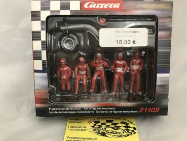 Figurensatz Mechaniker rot Carrera 132  21109