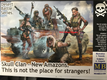 Skull Clan - New Amazons. !  1:35 MB35199