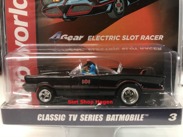 Auto World 4gear 1966 Batmobile - Batman (TV) HO Scale Slot Car 3584803