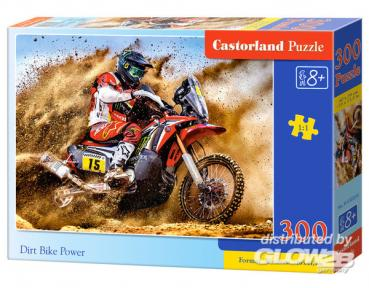 Castorland: Dirt Bike Power, Puzzle 300 Teile CASB-030354
