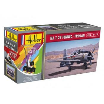North American T-28 Fennec/Trojan in 1:72  Heller 56279