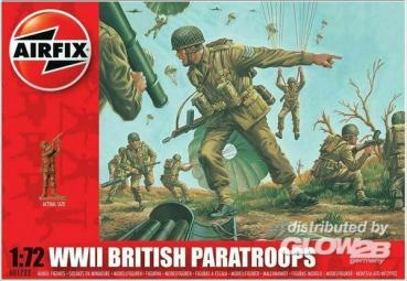 WW.2 British Paratroops  in 1:72 Airfix A01723