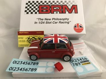 Mini Cooper Union Jack Edition rot BRM096R