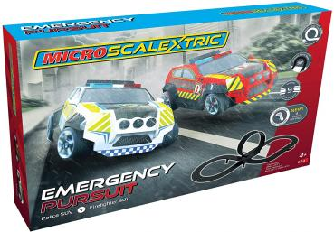 Micro Scalextric G1132 Emergency Pursuit Set