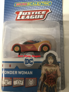 Justice League Wonder Woman Car G2168  Micro Scalextric