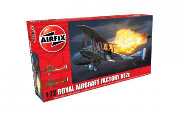 Royal Aircraft Facility BE2C in 1:72 Airfix A02101