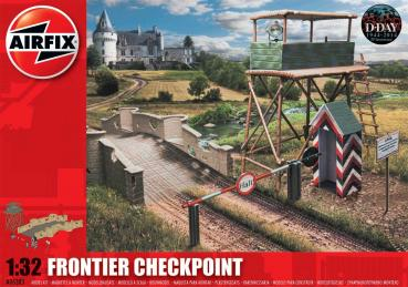Frontier Checkpoint in 1:32 Airfix A06383