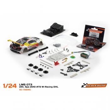 Audi R8 LMS Spa 2010 No.73 Bausatz Racing RC2 Competition  Scaleauto SC7061RC2
