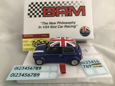 Mini Cooper Union Jack Edition blau BRM096B
