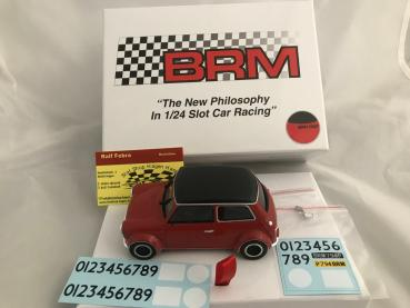 Mini Cooper Red Black Roof Edition BRM097