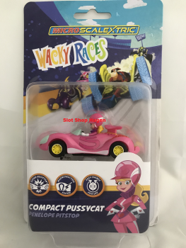 Wacky Races Penelope Pitstop car  G2166 Micro Scalextric